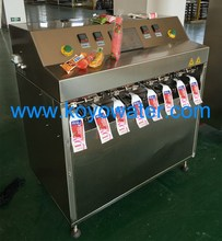 hand operated manual plastic tube filling machine for water/milk/ice lolly/concentrate juice/beverage