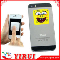 YS080 customized logo micro fiber sticky cell phone cleaner