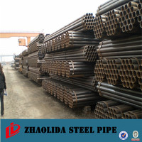 black steel pipe en39 ! st37 steel material properties q195 welded steel pipe