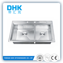 stainless steel granite kitchen sink factory with cUPC certificate