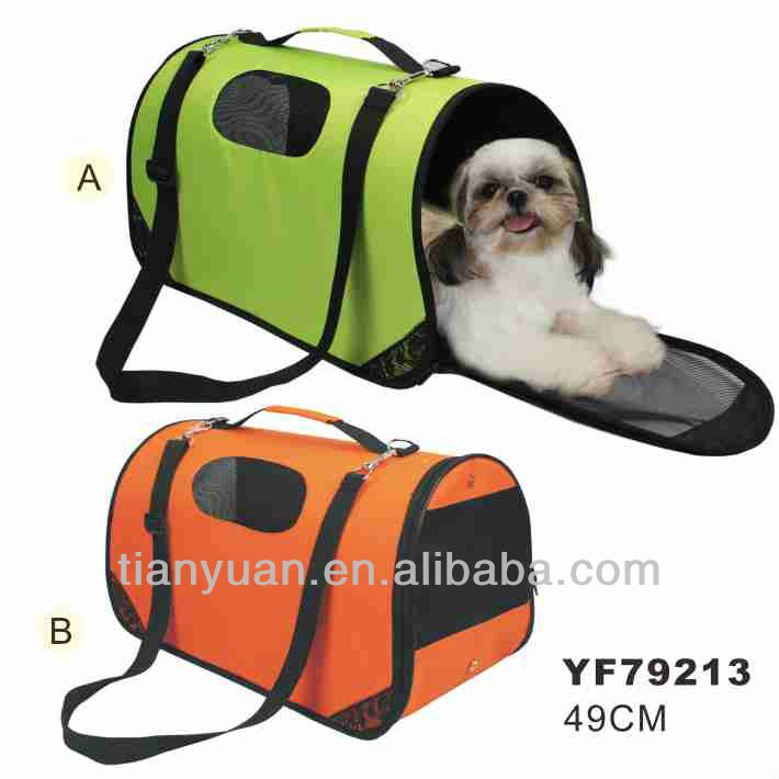Wholesale easy to carry cute pet carrier bag