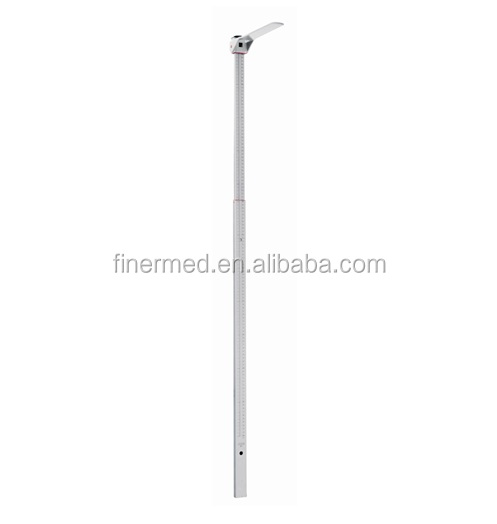 portable telescoping height measuring stick