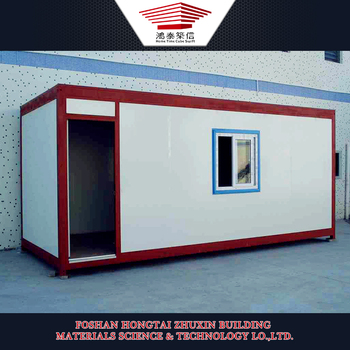 Prefabricated Tiny Beautiful Well-Designed Prebuilt Container Houses
