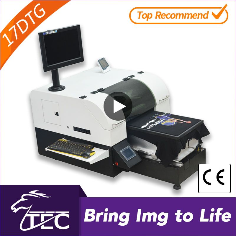 Economical a3 dx5 head 1440dpi t-shirt logo printing machine