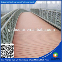 Fire-resistant cheap outdoor portable decking water proof wpc decking plastic flooring hollow decking