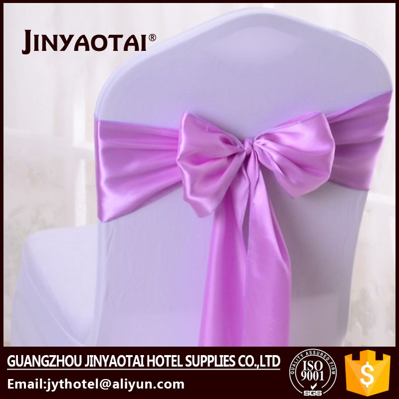arm Guangzhou 100% polyester spandex chair cover sash band