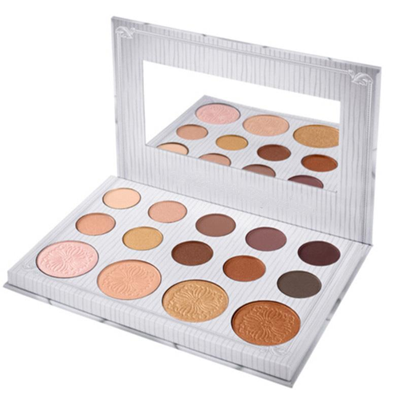 OEM/ODM Cosmetics Makeup Eye Shadow Palette 14 Colors for Matte Glitter Eyeshadow