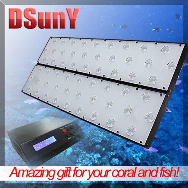"DSunY ultra-thin fixture aquarium led lights120w 48"" planet aquarium led lights"