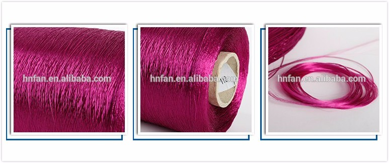 Wholesale quality cheap viscose dyed thread for embroidery