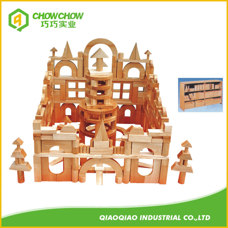 Wood Children Educational Cognitive Learning Building Block Toys