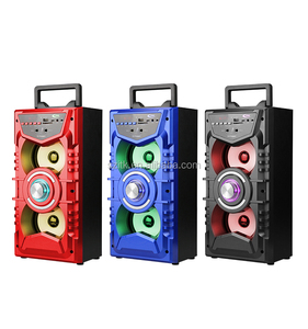 Shenzhen manufacturer wholesale cheap price Best Selling Boombox Type Mini Karaoke Speaker with LED/Bluetooth/USB