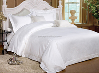 Bleached White 100% Pure Fiber Bamboo Nature Bedding Sets Bed sheet bamboo sheets