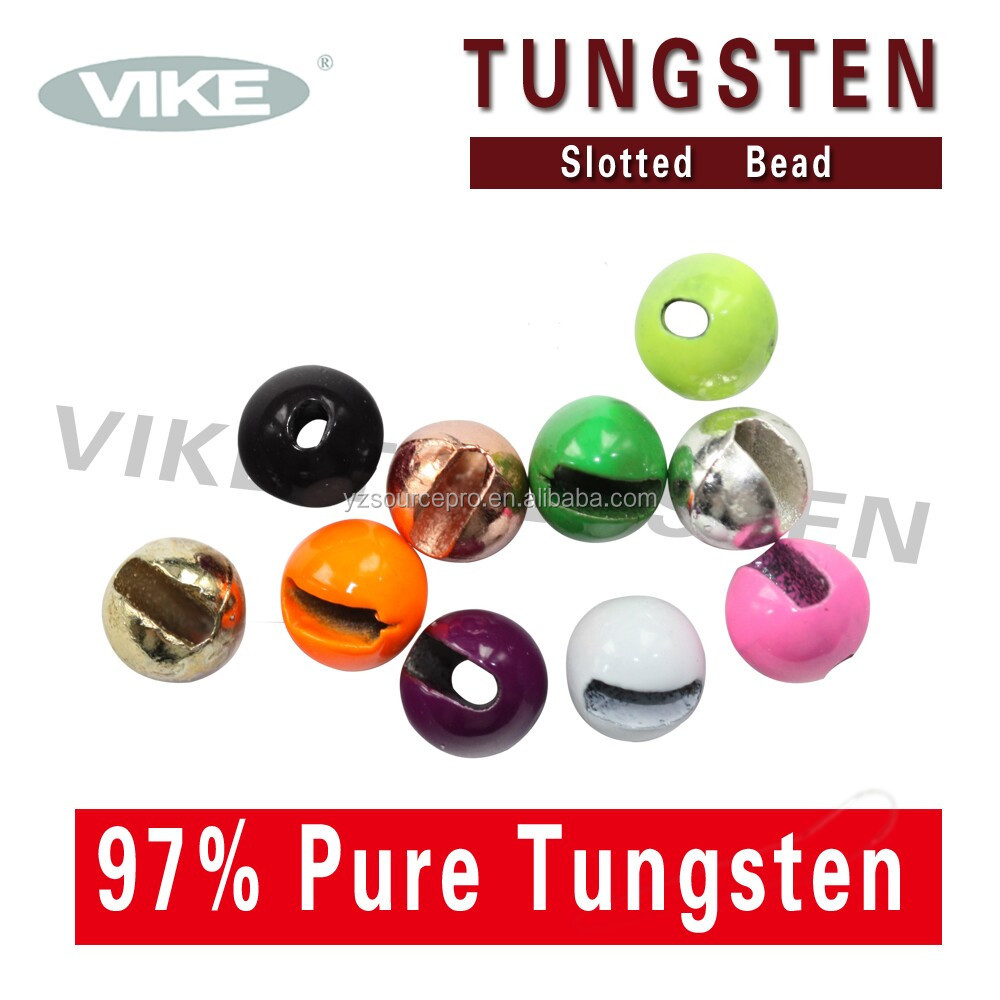 cheap fly fishing terminal material, tungsten fly tying beads