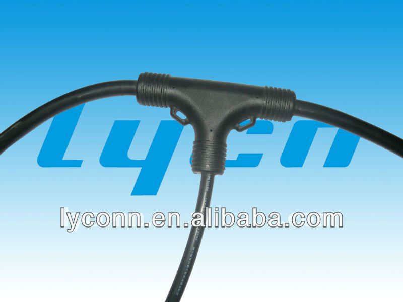 T waterproof cable used in outdoor led screen