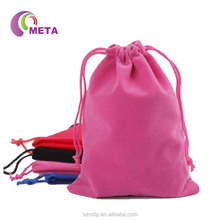 High Quality Velvet Customized Jewelry Roll Bag