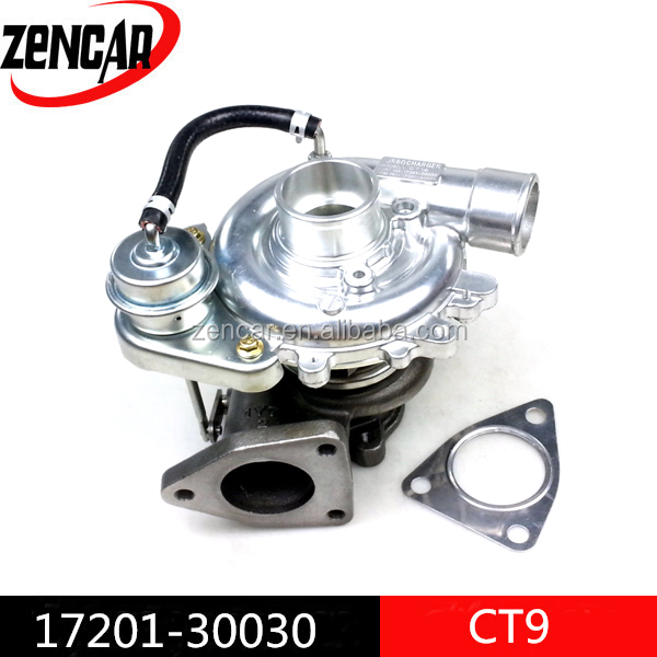 toyota supra twin turbo turbocharger for HIACE, Land Cruiser 17201-30030 with 2KD-FTV engine