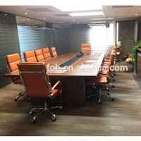Wooden Conference Table/Boardroom Table Office Furniture (FOHS-C3805)