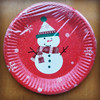 printing paper plate for christmas party