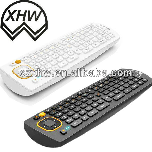 2013Chinese new designed 2.4 GHz Wireless+QWERTY Keyboard remote control