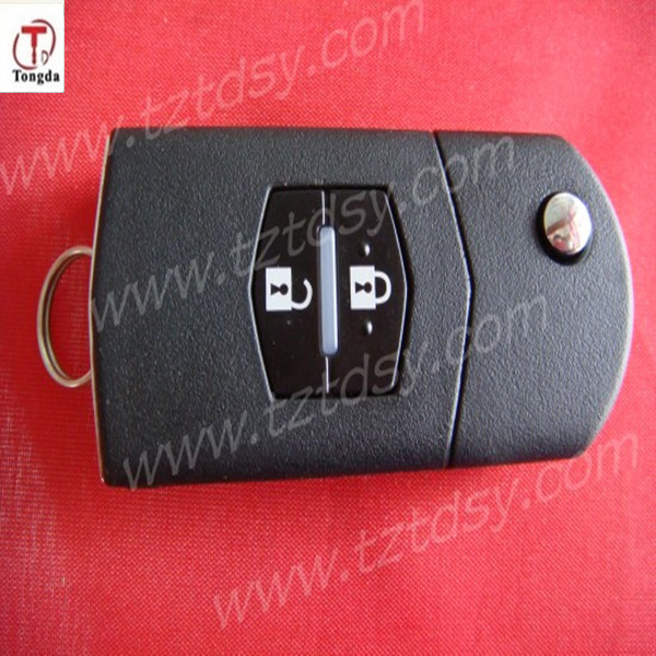 TD 2 button remote key. M 3 2 button remote 433mhz remote control 4D 63 for Mazda