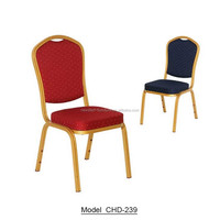 Factory wholesale cheap price steel hotel banquet chair