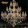 Hot Sale Large Chandelier Antique Crystal Chandelier Light for Hotel Lobby MD8499 L30