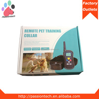 100% New Pet Training Product Electric Shock Pet Dog Training Collar