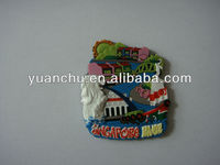 promotional 3d soft souvenir magnets for fridge