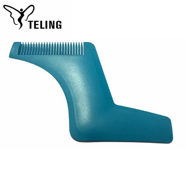 ABS Plastic OEM Portable Facial Hair Shaper Beard Shaping Tool