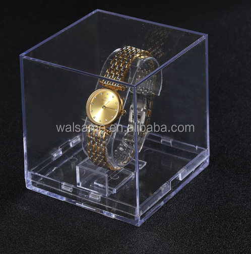 Transparent Customized Clear Watch Display Holder Acrylic Watch Box