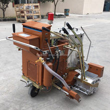 used thermoplastic road marking machine