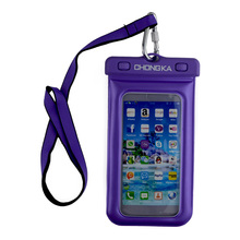 2017 New Product For Iphone 6 Waterproof Mobile Phone Case/ Phone PVC Waterproof Dry Bag For Swimming