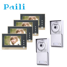 Video Door Phone System with hand-free talk/unlock Function and Access Control System