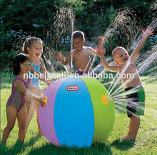Promotion Outdoor Toys kids play Sprinkler Aqua splash Beach Ball