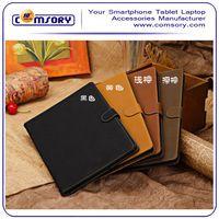Business Style Multi-Angle Viewing Stand Leather case for APPLE iPad Air Paypal Acceptable