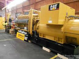 3 used Sets Of Caterpillar 3520 Power Plant