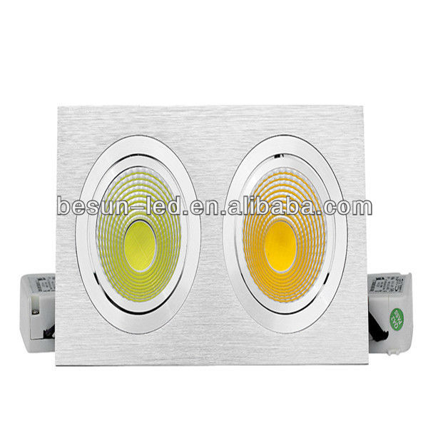 New fashion design 2013 COB led ceiling pot lights best-selling