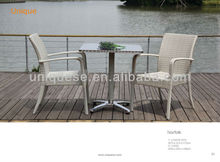 Hamilton table Alum wicker chair tables and chairs for balcony