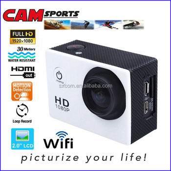 WiFi Extreme Go Action Camera Full HD 1080P 30M Waterproof Pro Camera Underwater Sports DV Mini Camera DV-15