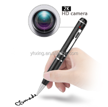 2017 newest 2304*1296P hd spy camera pen with Motion Detection and Night Vision function,1296P hidden spy pen camera dvr