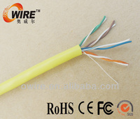 24awg copper interior low voltage utp cat5e cable