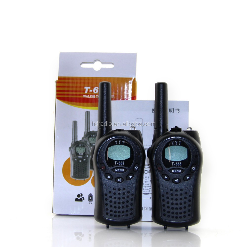 Small type license free PMR446 MHz portable radio walkie talkie with Channel Scan T-688
