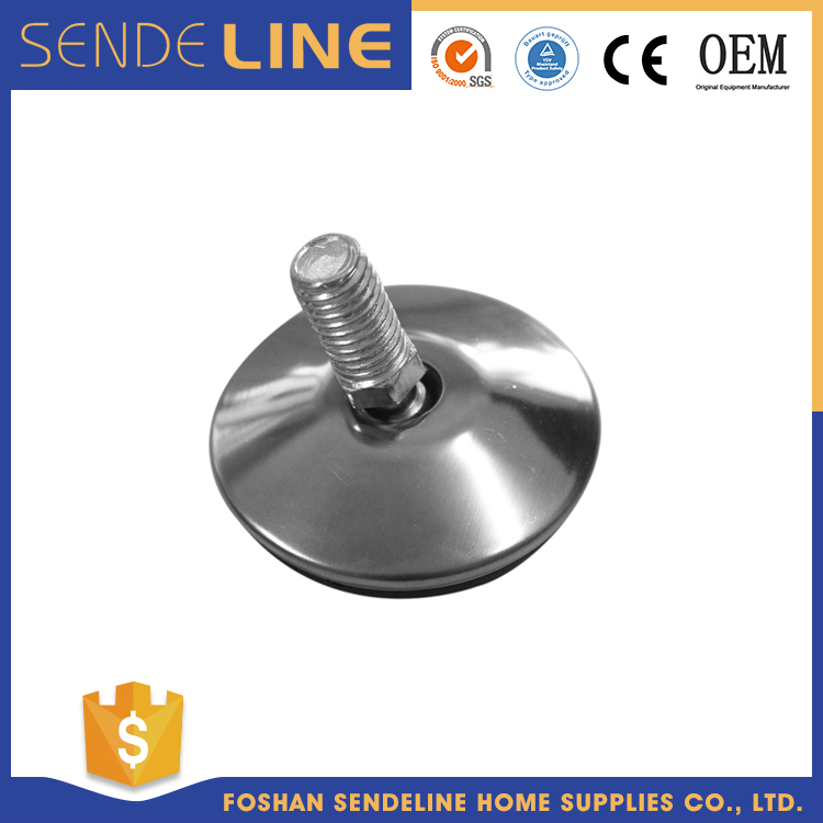 High quality Compact adjustable support stainless steel feet/furniture parts