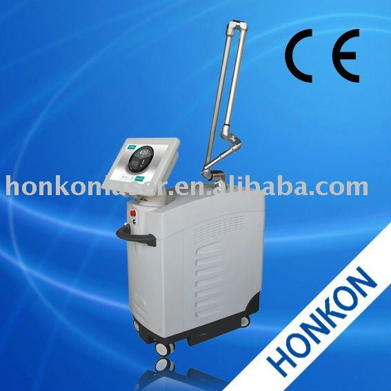 Single pulse 800mj QS ND:YAG Laser machine For Laser Facial skin soften
