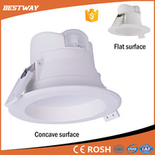 high power new design 6 8 10 inch 5w 7w 8w 10w 12w 18w 20w 25w round recessed dimmalbe cob led downlight