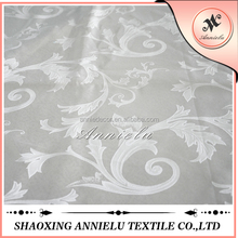 Wholesale 100% polyester plain printed jacquard knitting fabric