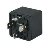 12V 40A automotive (car) relay black plastic bracket,4 pins,REF NO. WEHRLE 22200030