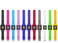 Wholesale lowest price silicone band for apple watch rubber strap