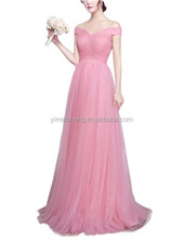 New Fashion Ladies chiffon dress hot sale ball gown prom dress for sale