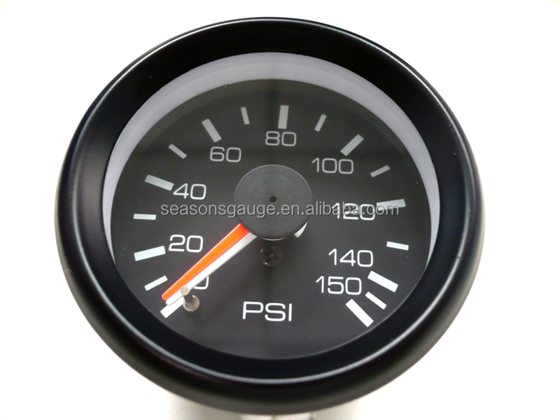 150psi Dual Air Suspension Compressor Pressure Gauge